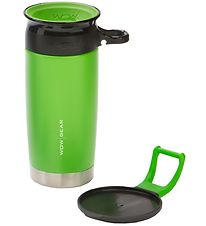 Wow Cup Thermo - Steel - 400 ml - Green/Black