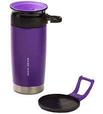 Wow Cup Thermo - Steel - 400 ml - Purple/Black