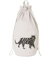 ferm Living Storage Bag - Tiger - 50 cm - Nature White