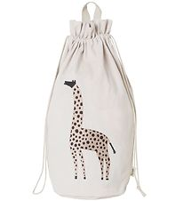 ferm Living Storage Bag - Giraffe - 50 cm - Nature White