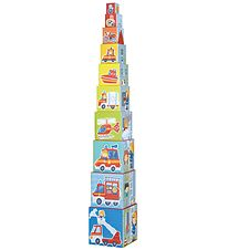 Haba Stacking Blocks - Fire Station