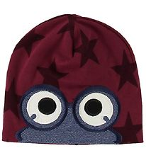 Freds World Beanie - Bordeaux w. Star/Eyes