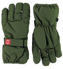 Mikk-Line Gloves - Green