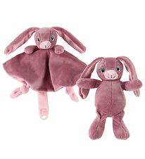 My Teddy Comfort Blanket & Soft Toy - Rose - Rabbit