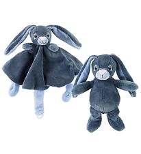 My Teddy Comfort Blanket & Soft Toy - Blue - Rabbit