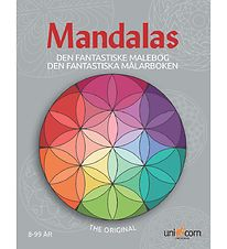 Mandalas Colouring Book - Ages 8 and Up
