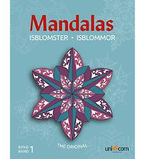 Mandalas Colouring Book - Ice Crystals - Volume 1