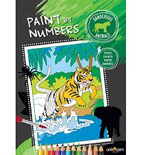 Paint By Paint By Numbers - Wild Animals
