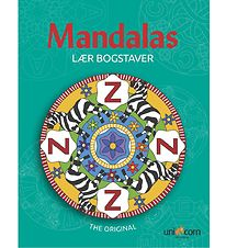 Mandalas Colouring Book - Letters