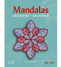 Mandalas Colouring Book - Ice Crystals - Volume 2