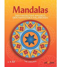 Mandalas Colouring Book - Ages 4 and Up