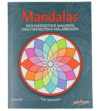Mandalas Colouring Book - Ages 6 and Up