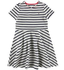 Tommy Hilfiger Dress - Navy/Grey Striped