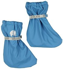 CeLaVi Outdoor Footies - PU - Dusty Blue