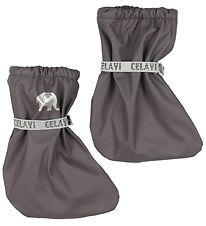 CeLaVi Outdoor Footies - PU - Grey-Brown
