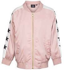Petit by Sofie Schnoor Track Jacket - Dots - Pink w. Stars
