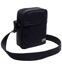 Lacoste Shoulder Bag - Vertical Camera Bag - Navy