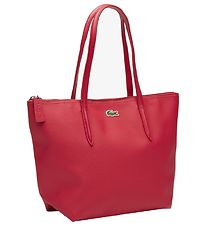 Lacoste Bag - Small Shopping Bag - Cherry Red