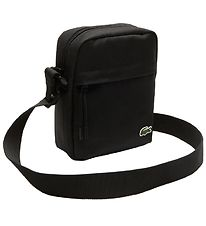 Lacoste Shoulder Bag - Vertical Camera Bag - Black