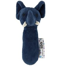 NatureZoo Rattle - Elephant - Dark Blue