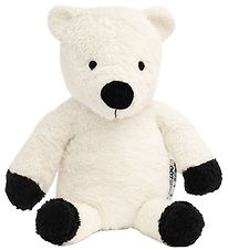 NatureZoo Soft Toy - 30 cm - Teddy Fleece - White