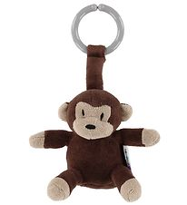 NatureZoo Clip Toy - Monkey - Brown