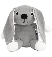 NatureZoo Soft Toy - 18 cm - Rabbit - Grey