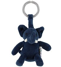 NatureZoo Clip Toy - Elephant - Dark Blue