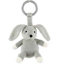 NatureZoo Clip Toy - Rabbit - Grey