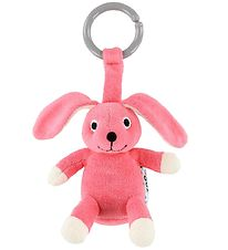 NatureZoo Clip Toy - Rabbit - Pink