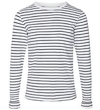 Cost:Bart Blouse - Evelin - White/Navy Striped