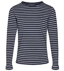 Cost:Bart Blouse - Evelin - Navy/White Striped