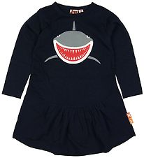 DYR Dress - Busy Bee - Navy Melange w. Shark
