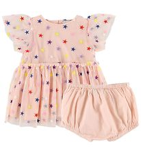 Stella McCartney Kids Dress w. Bloomers - Rose w. Stars