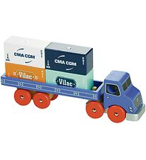 Vilac Container Truck - Blue