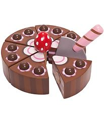 Le Toy Van Play Food - Honeybake - Chocolate Cake