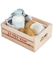Le Toy Van Play Food - Honeybake - Egg & Milk Products