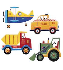 Room mates Wallstickers - Transportation