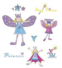 Room Mates Wallstickers - Fairies & Princesses