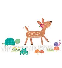 Room Mates Wallstickers - XL - Deer w. Forest Animals