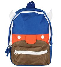 Danefæ Preschool Backpack - Northman - Blue/Orange/Brown