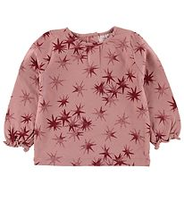 Noa Noa Miniature Blouse - Rose w. Stars