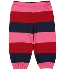 Danefæ Trousers - Kirsten - Red/Pink Striped