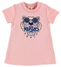 Kenzo Sweat T-shirt - Light Rose w. Tiger