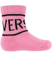 Young Versace Socks - Light Pink