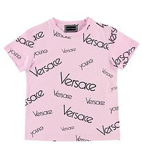 Young Versace T-shirt - Pink w. Print