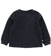 Wheat Disney Blouse - Steel Blue w. Minnie