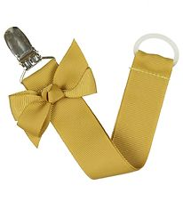 Bows By Stær Dummy Clip - Mustard w. Bow