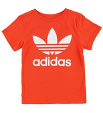 adidas Originals T-shirt - Trefoil - Warm Orange