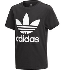 adidas Originals T-shirt - Trefoil - Black